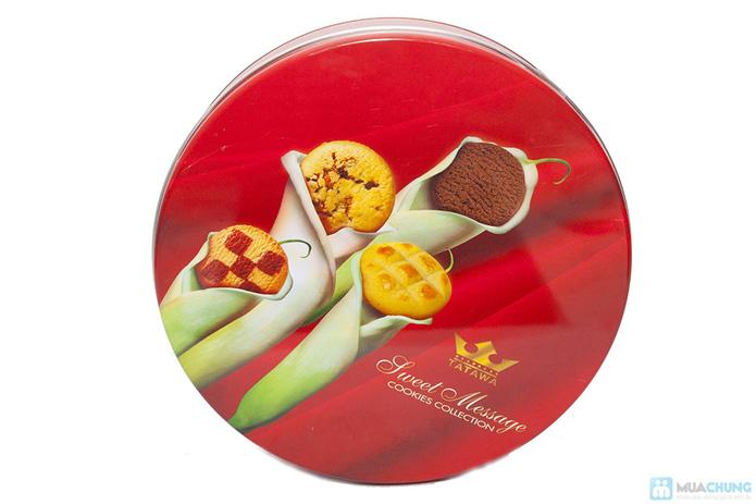 Bánh Sweet messege ( bánh quy tổng hợp, bánh nhân mứt , nhân chocolate dẻo) - 1