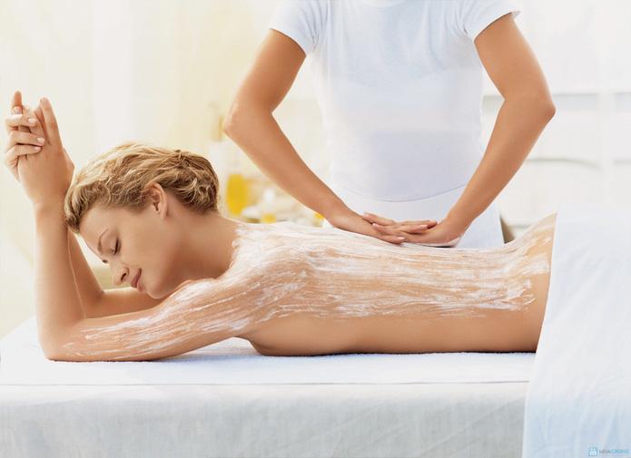 Massage body bằng tinh dầu đá nóng tại Spa Bông Bông - 3