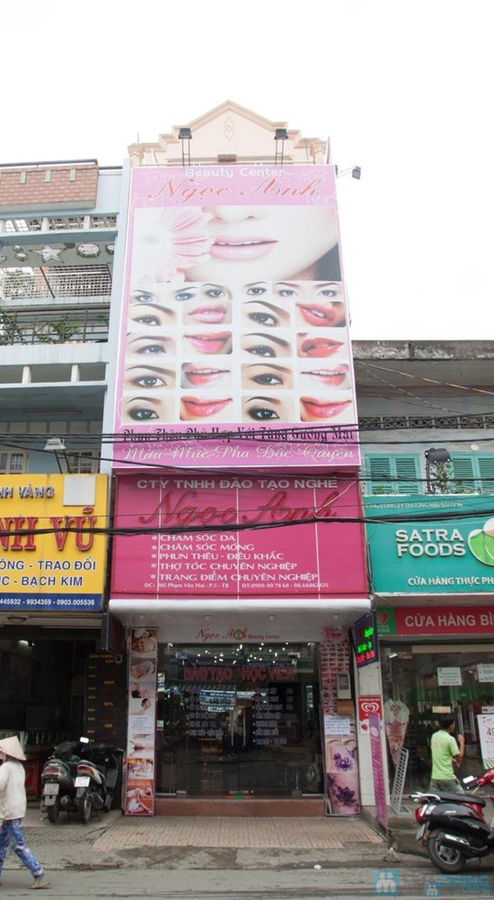 Trọn gói Uốn - duỗi - nhuộm tại Ngọc Anh Beauty Center - 1