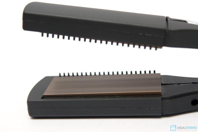 Máy ép duỗi tóc đa năng với 8 thẻ tạo kiểu - 6