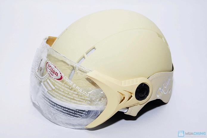 Nón bảo hiểm sport có 12 lỗ thông gió - 5