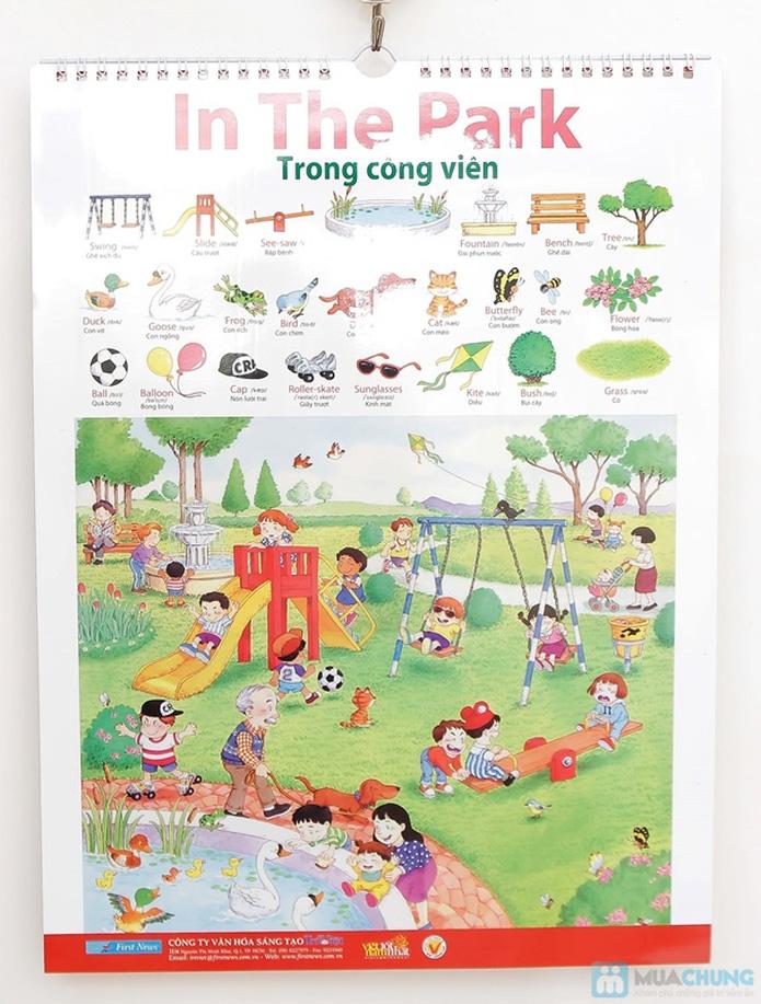 3 bộ Poster treo tường 8 tờ dành cho bé học. Chỉ với 121.000đ - 13