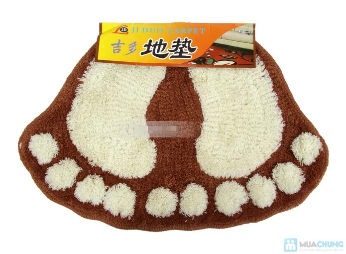 Combo 2 thảm hình bàn chân xinh xắn (40*60cm) - 1