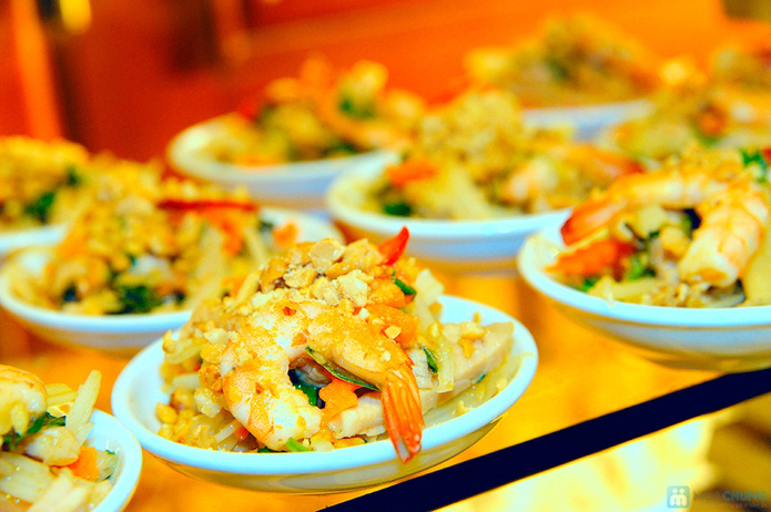 Buffet nướng tối thứ 6, 7, Chủ nhật tại Nhà hàng Hương Sen - Chỉ 10.000đ được phiếu 55.000đ - 8