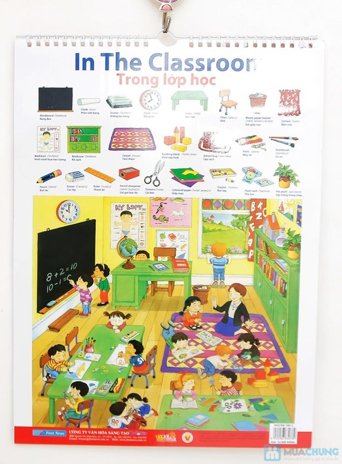 3 bộ Poster treo tường 8 tờ dành cho bé học. Chỉ với 121.000đ - 12