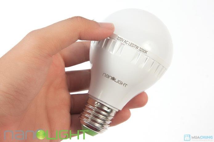 Bóng đèn led siêu tiết kiệm nanolight 7W - 3