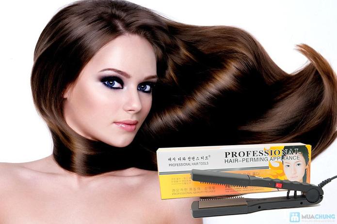 Máy ép duỗi tóc đa năng với 8 thẻ tạo kiểu - 9