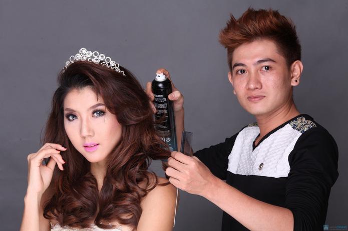 Trọn gói Uốn - duỗi - nhuộm tại Ngọc Anh Beauty Center - 5