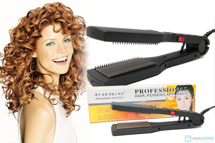 Máy ép duỗi tóc đa năng với 8 thẻ tạo kiểu - 10