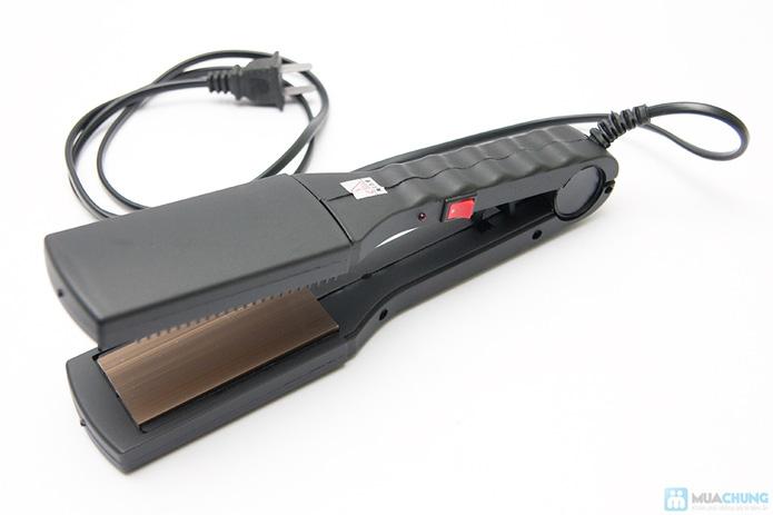 Máy ép duỗi tóc đa năng với 8 thẻ tạo kiểu - 4
