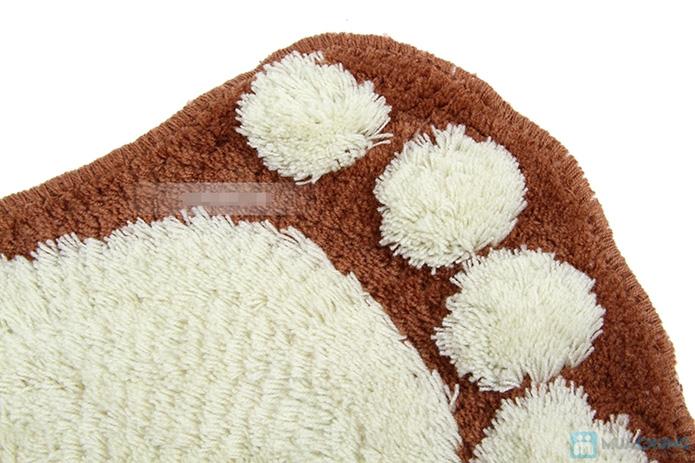 Combo 2 thảm hình bàn chân xinh xắn (40*60cm) - 3