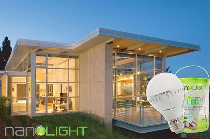 Bóng đèn led siêu tiết kiệm nanolight 7W - 6