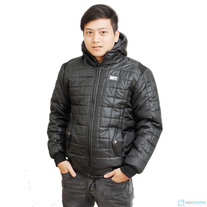 Áo phao cực ấm thời trang cho nam - 4