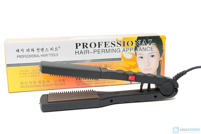 Máy ép duỗi tóc đa năng với 8 thẻ tạo kiểu - 1