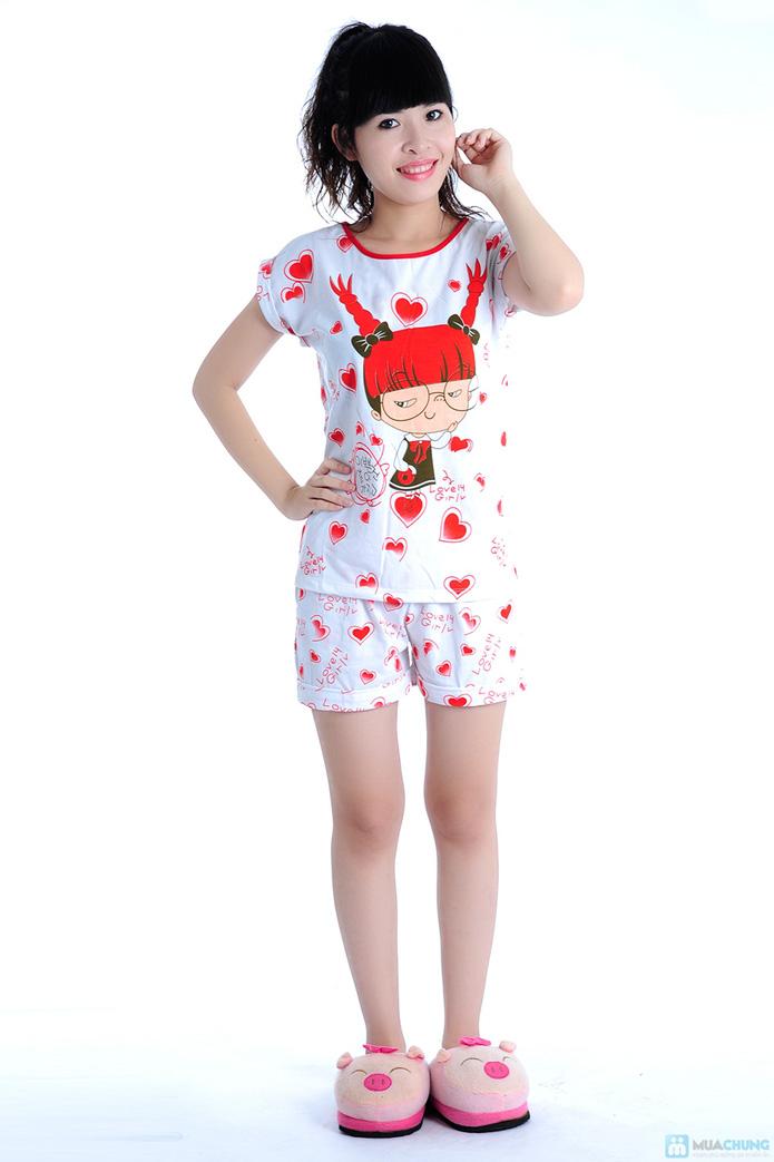 Bộ đồ mặc nhà họa tiết gấu - 1