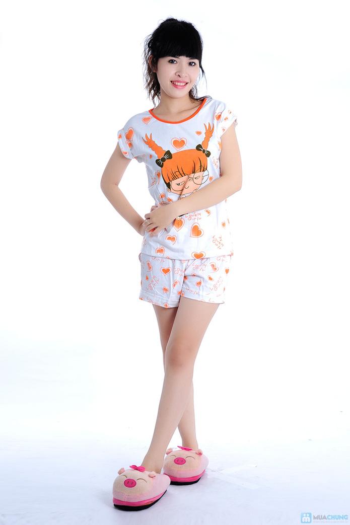 Bộ đồ mặc nhà họa tiết gấu - 6