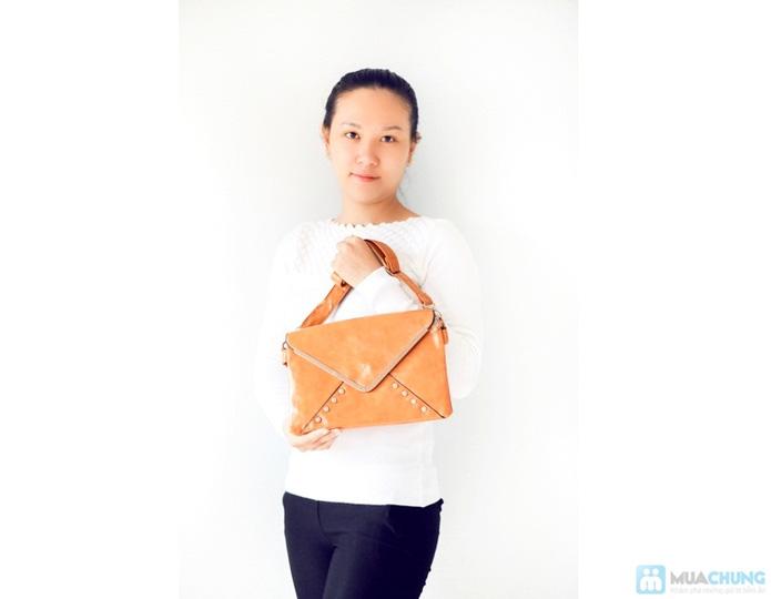 Túi xách hình bao thư sành điệu - 6