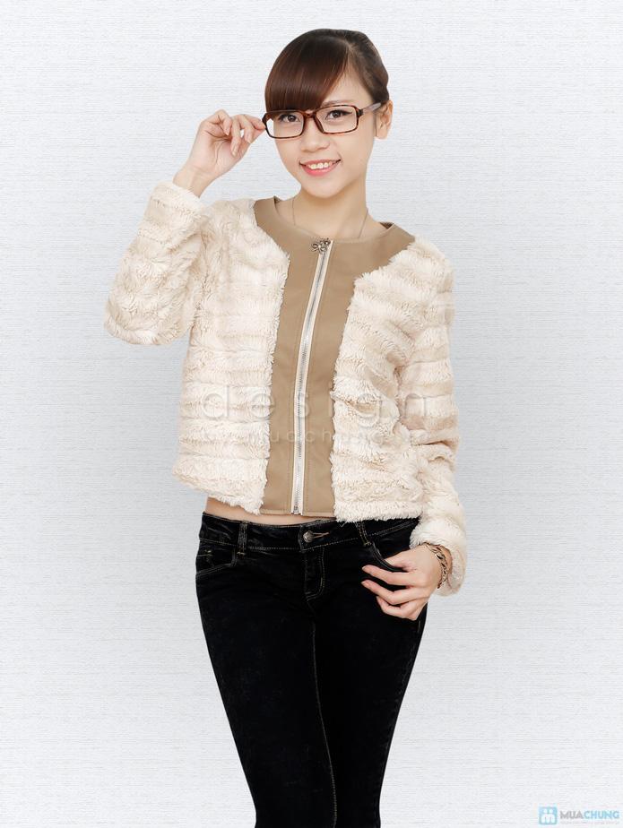 Áo khoác lông cá tính - 1