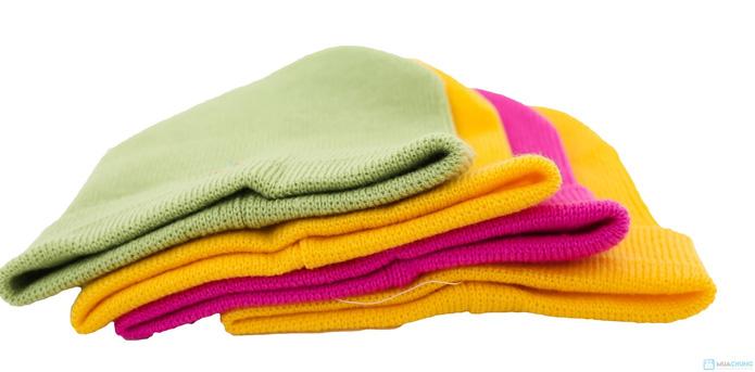Combo 4 mũ len mịn cho bé - 10