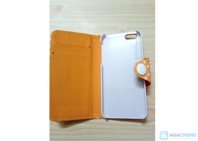 Bao da Iphone 5/5S chấm bi - 2