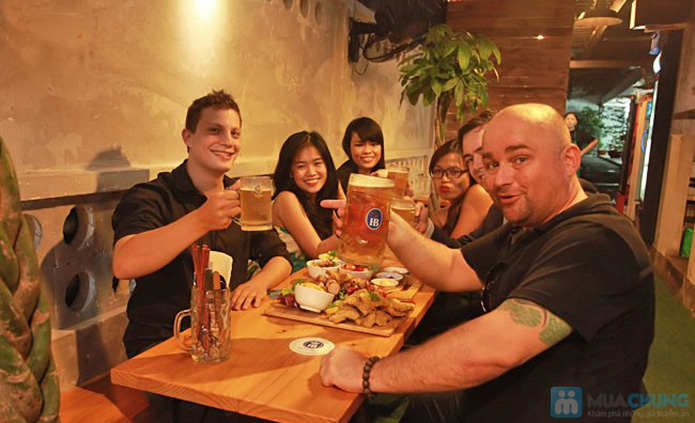 Buffet tối hải sản BBQ hơn 40 món tại Nhà hàng Thằng Mập - 3