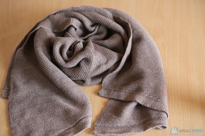 Khăn len mịn dáng dài - 6