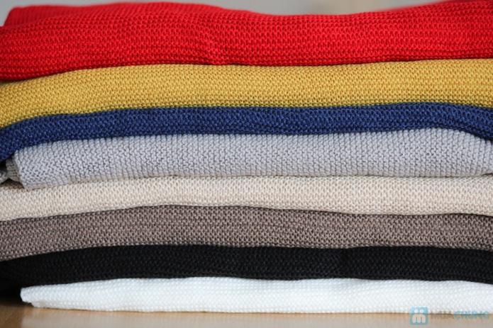 Khăn len mịn dáng dài - 7