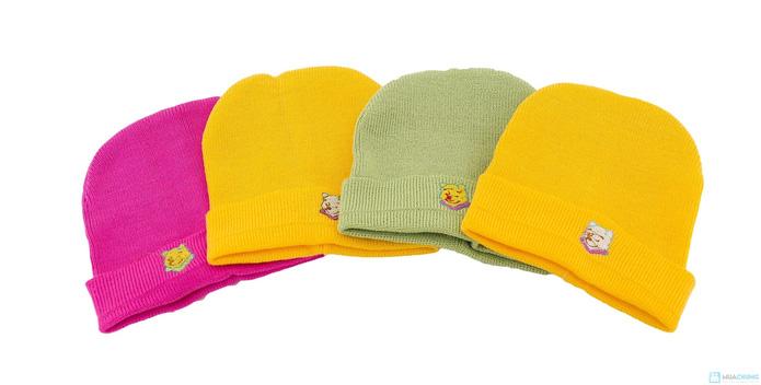 Combo 4 mũ len mịn cho bé - 7