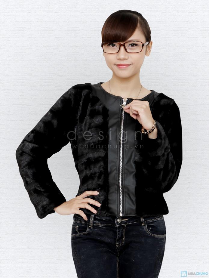 Áo khoác lông cá tính - 3