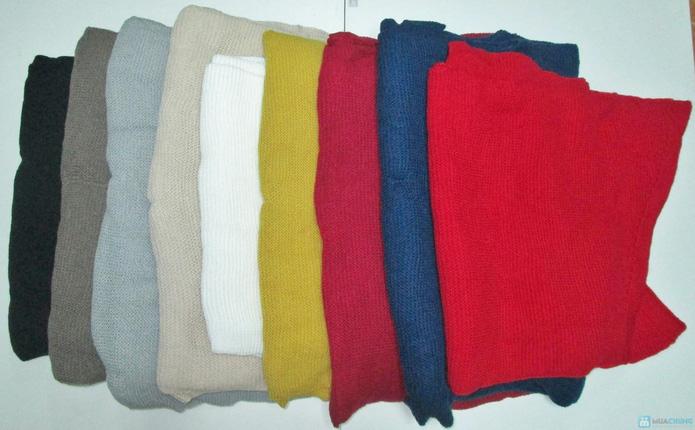 Khăn len mịn dáng dài - 1