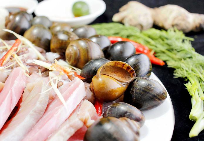 Lẩu nấm nhà hàng hải sản Nha Trang - 1