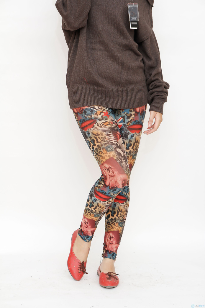 combo 3 quần mặc nhà họa tiết - 5