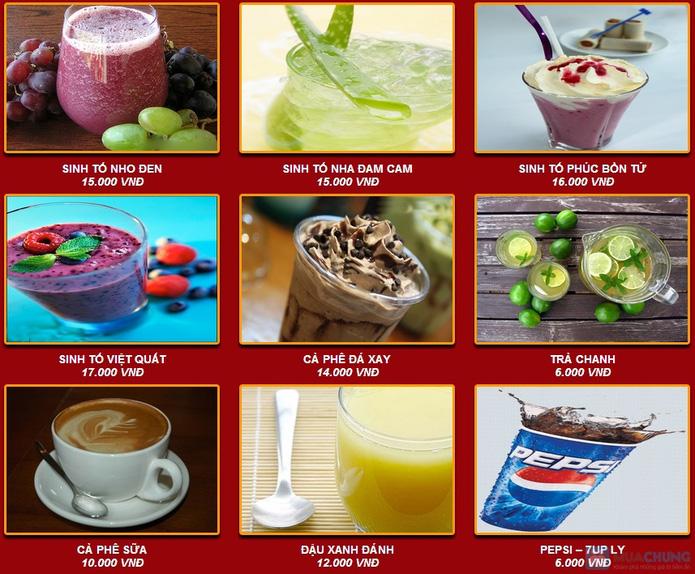 Combo Sanwich bò + Hamburger bò + 2 ly nước bất kỳ(pepsi, coca,sữa đậu nành, trà chanh, cafe đá) - 4