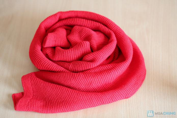 Khăn len mịn dáng dài - 5