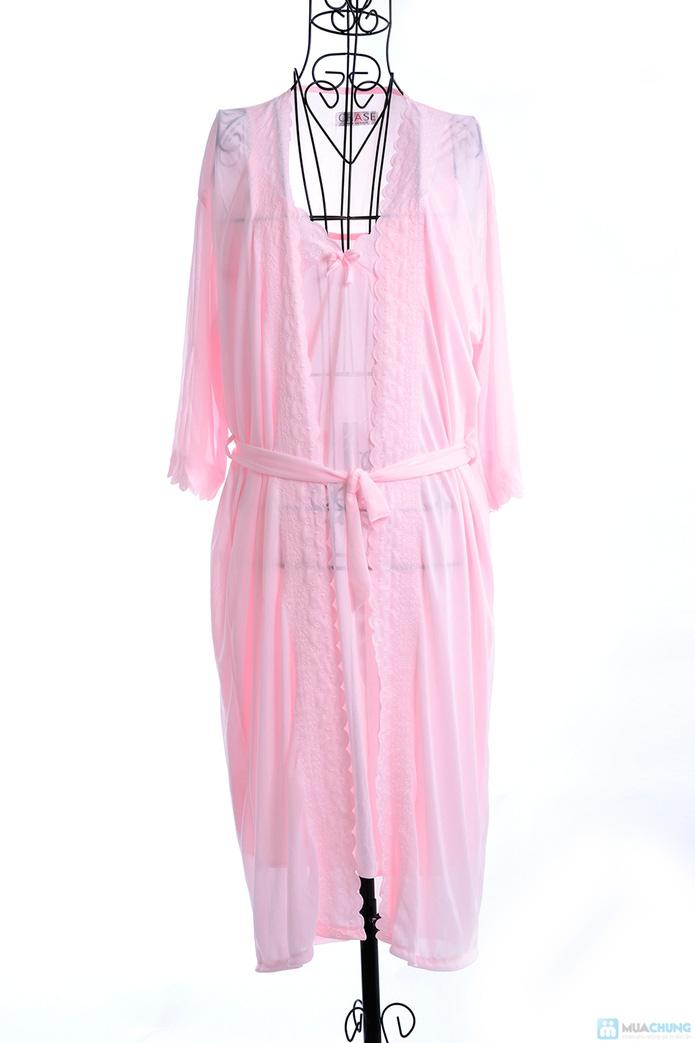 Đầm ngủ gợi cảm kèm áo khoác - 5