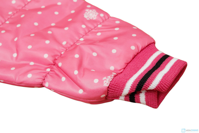 Thời trang và ấm áp với áo khoác phao cho bé gái - 4