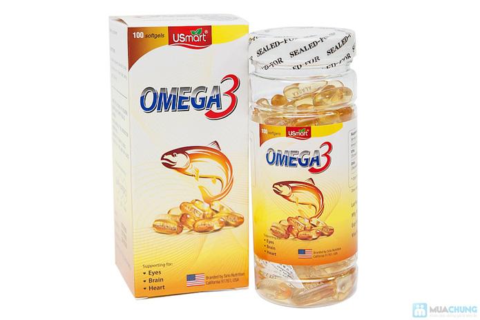 Omega 3 ALASKA - Giúp giảm cholesterol, chống lão hóa... - 1