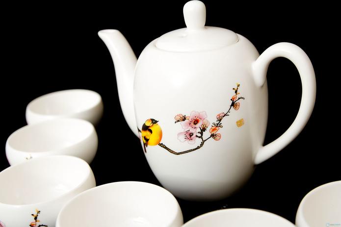 Bộ ấm trà hoa đào - 3