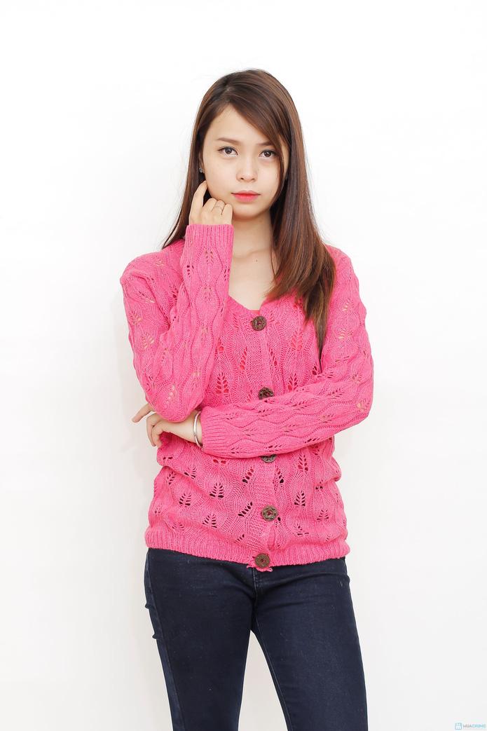 Áo len cardigan nữ tính  - 1