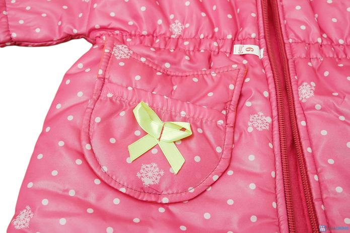 Thời trang và ấm áp với áo khoác phao cho bé gái - 7