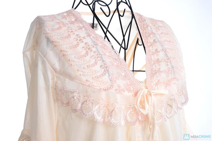 Đầm ngủ gợi cảm kèm áo khoác - 8