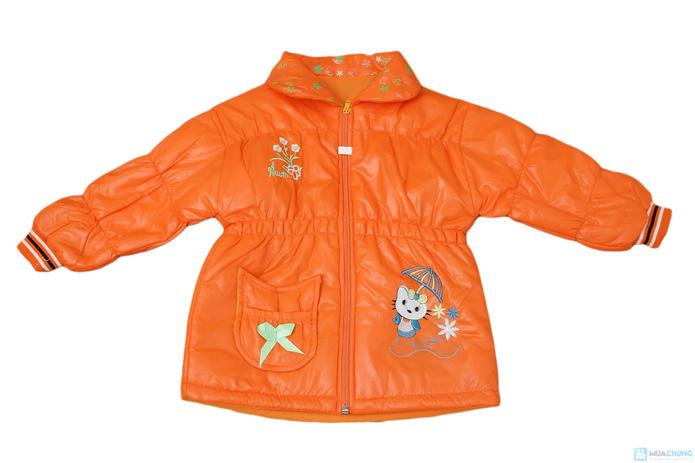 Thời trang và ấm áp với áo khoác phao cho bé gái - 3