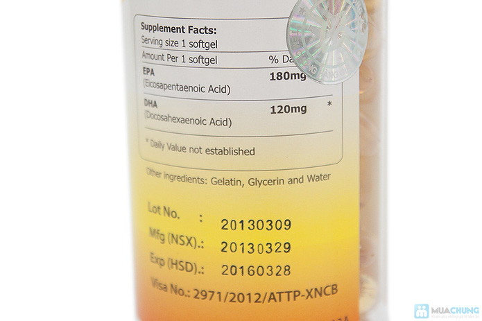 Omega 3 ALASKA - Giúp giảm cholesterol, chống lão hóa... - 3