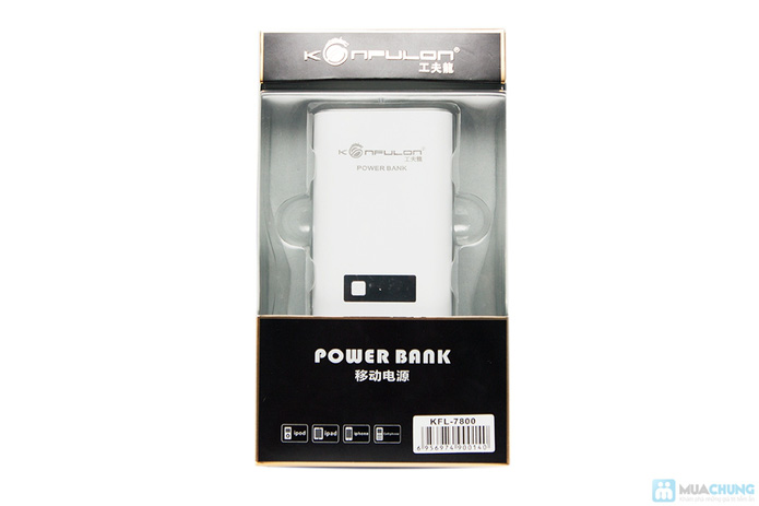 Pin sạc dự phòng Konfulon KFL-7800 (7800 mAh) - 5