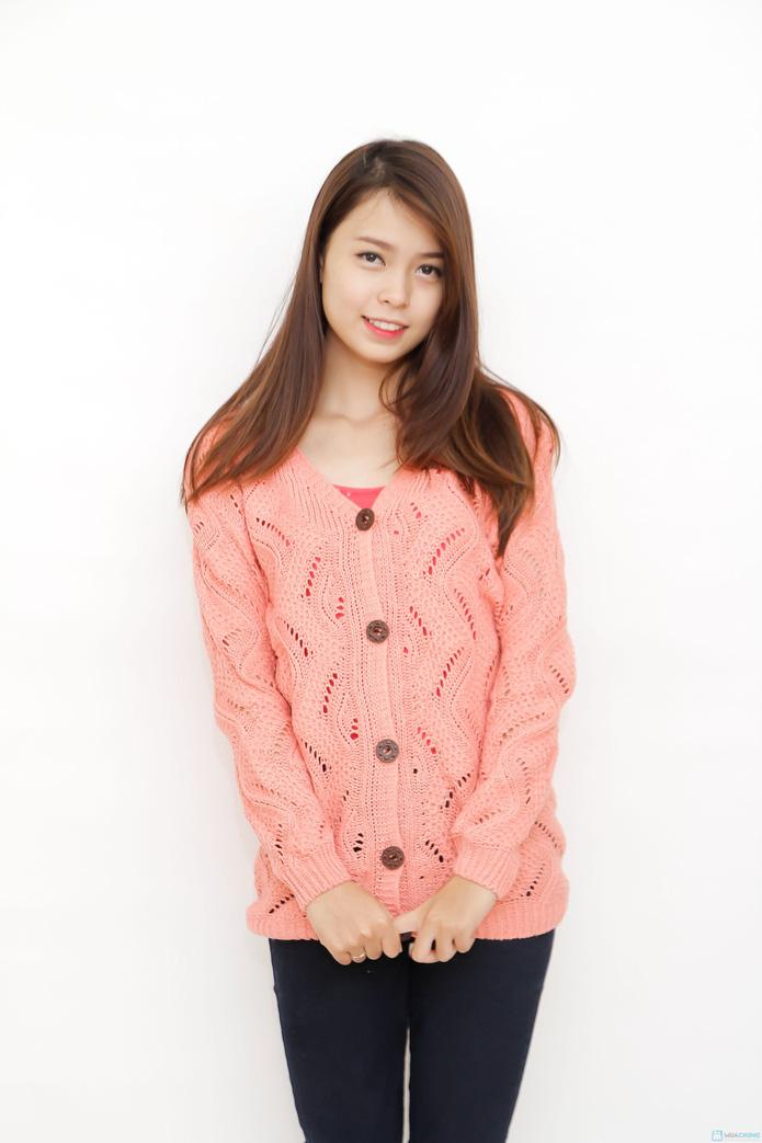 Áo len cardigan nữ tính  - 4