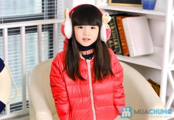 Thời trang và ấm áp với áo khoác phao cho bé gái - 5