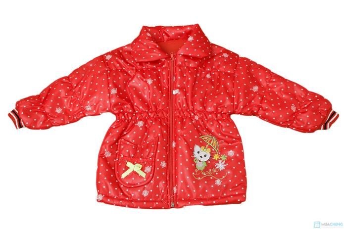 Thời trang và ấm áp với áo khoác phao cho bé gái - 2