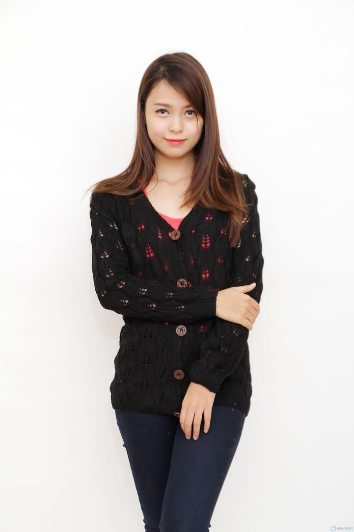 Áo len cardigan nữ tính  - 6