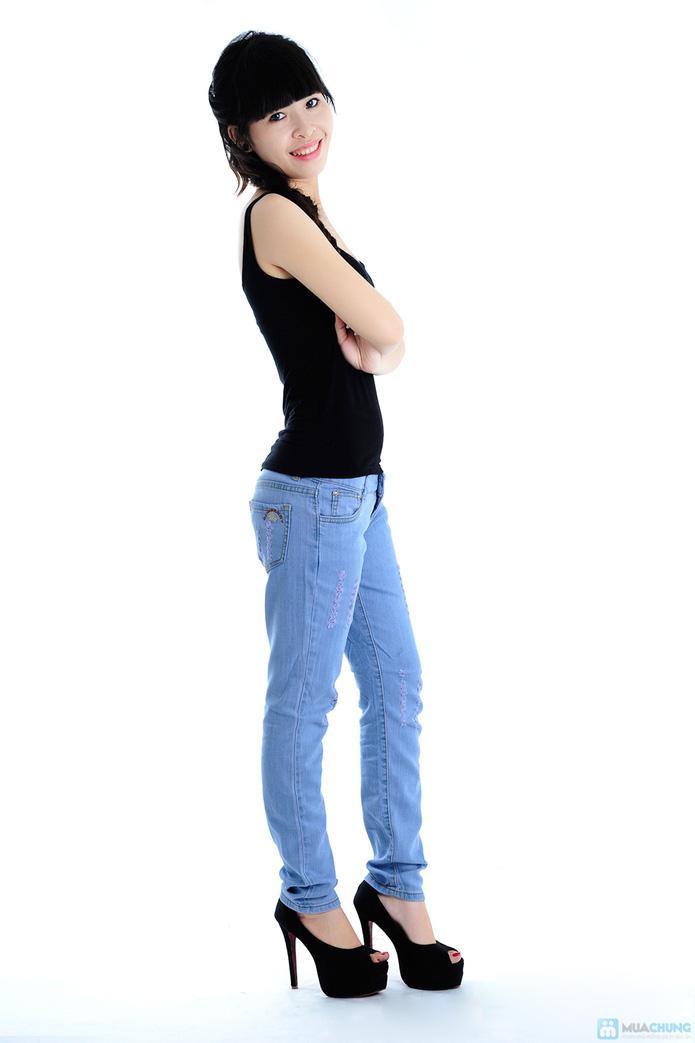 Quần jean nữ xuất khẩu - 3