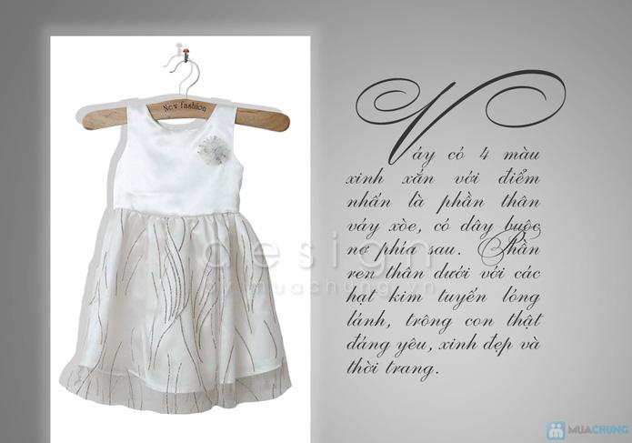 Váy công chúa xinh xắn cho bé gái - 2